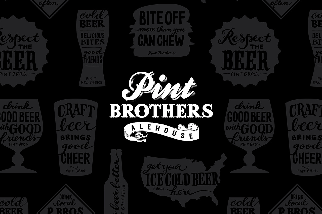 3a.pint-brothers-alehouse-restaurant-design-branding-logos-icons-catchphrase