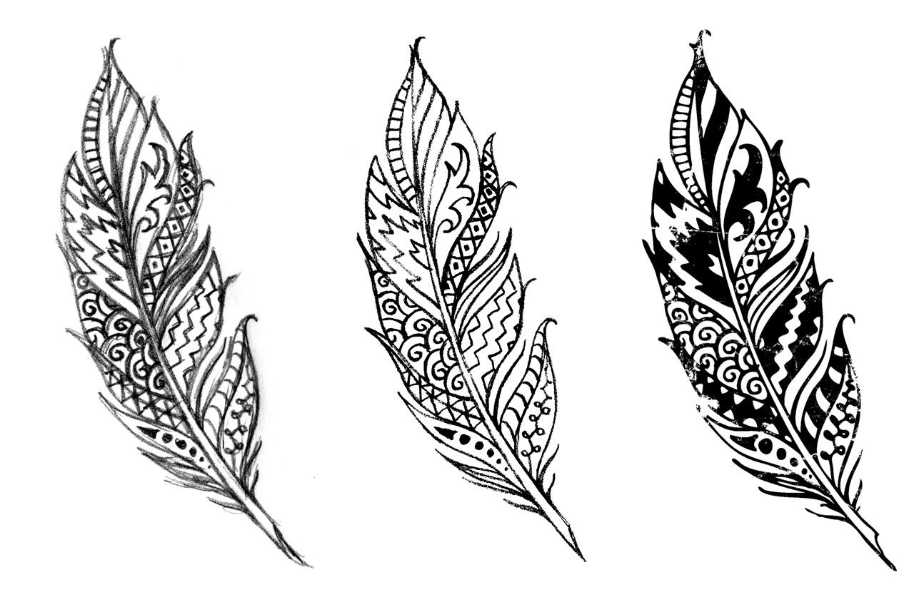 kachina-illustration-feather-southwestern