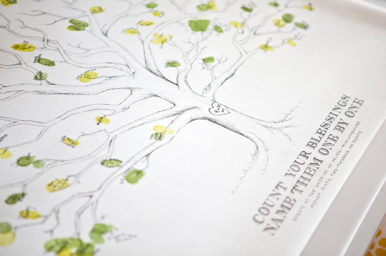 wedding-guest-book-tree-fingerprint-handdrawn